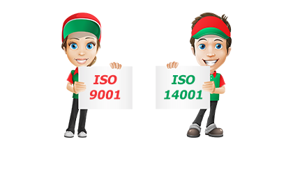 Registered to ISO 9001 and ISO 14001